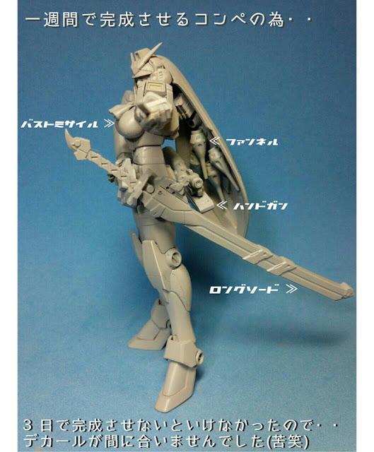 gundam nobel modified lady kawaguchi