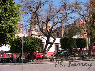 voyage mexique blog paysages san miguel allende colonial eglise photo