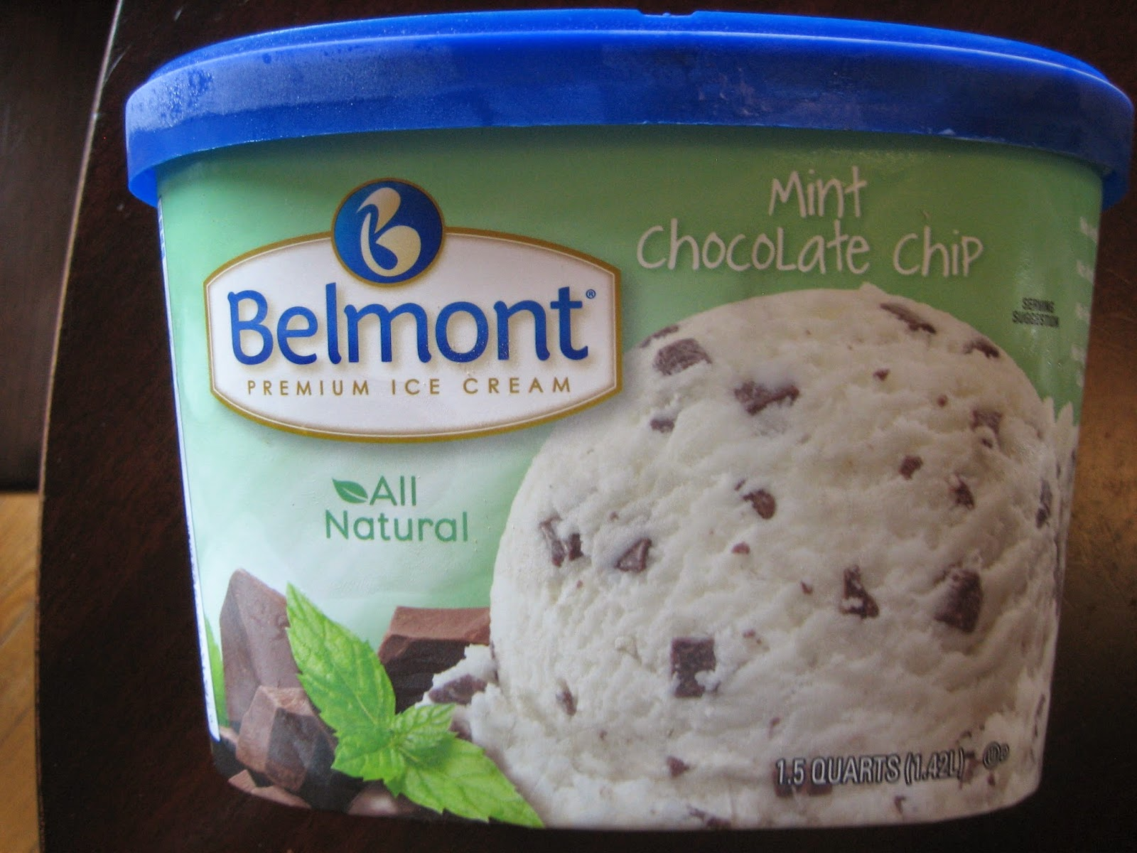 review of belmont chocolate chip ice cream | the fork in the road