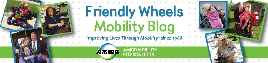 Friendly Wheels - Amigo Mobility scooter blog, accessibility info