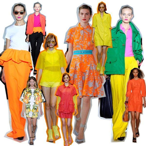 Colori fluo per l 39 estate 2012 for Colori fluo