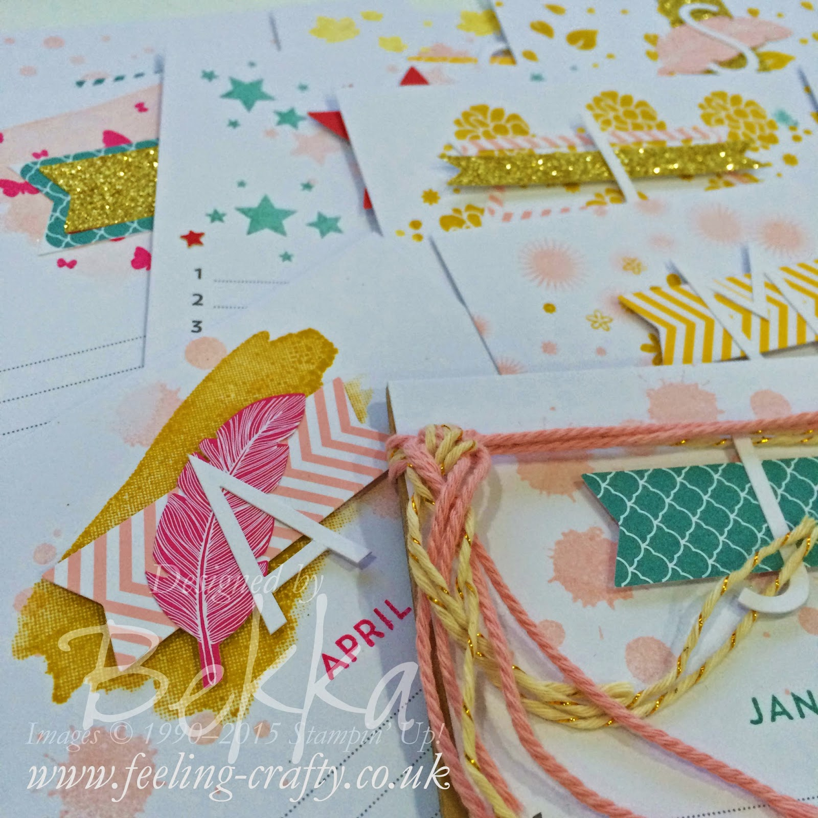Perpetual Birthday Calendar Class - check it out here - available by post as well as in person