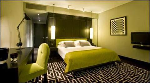 dekorasi kamar hotel