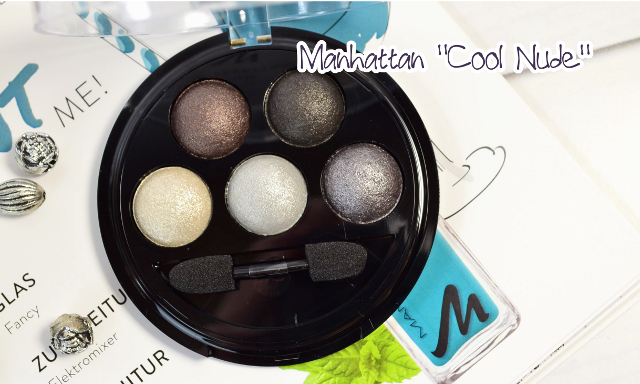 Manhattan Sparkling Nudes Eyeshadow Cool Nude