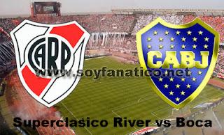 Superclasico River vs Boca por Copa Libertadores 2015