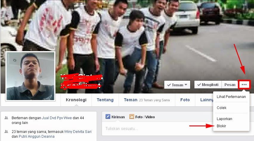 Blokir Teman FB