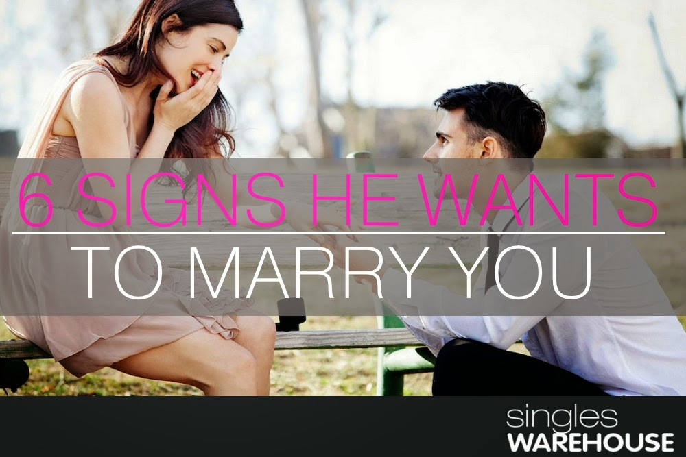 signs he wants to marry you | Marry You, The Check and Signs