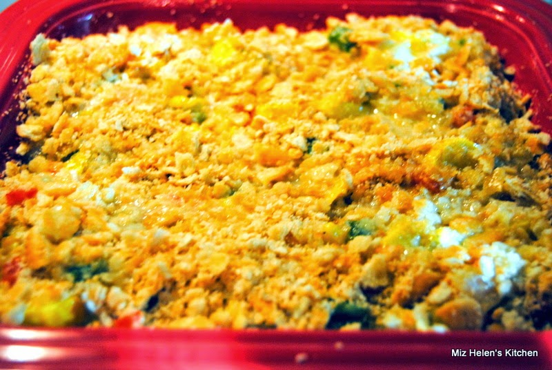 Texas Squash Casserole at Miz Helen's Country Cottage