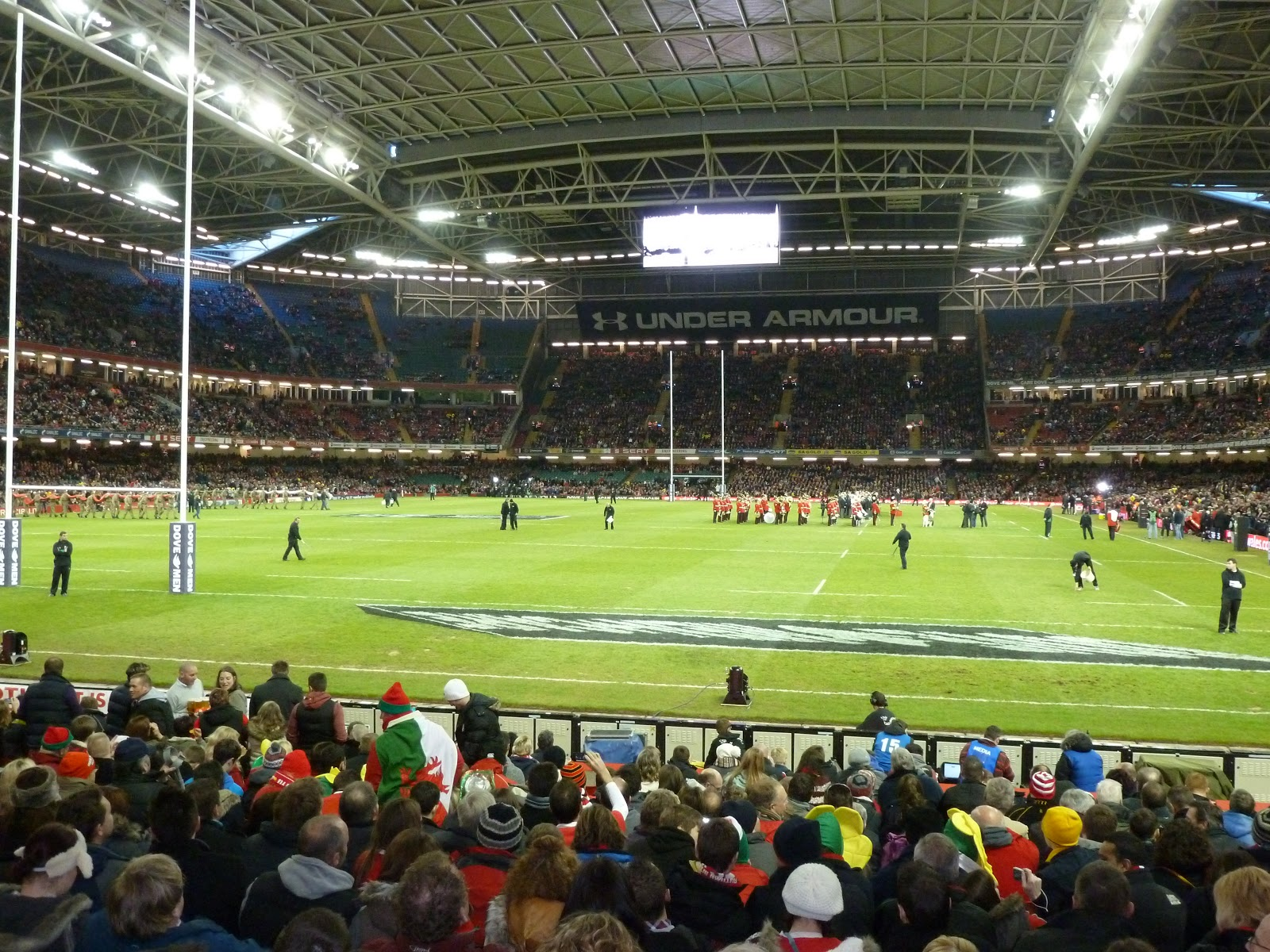 Wales v Australia Cardiff