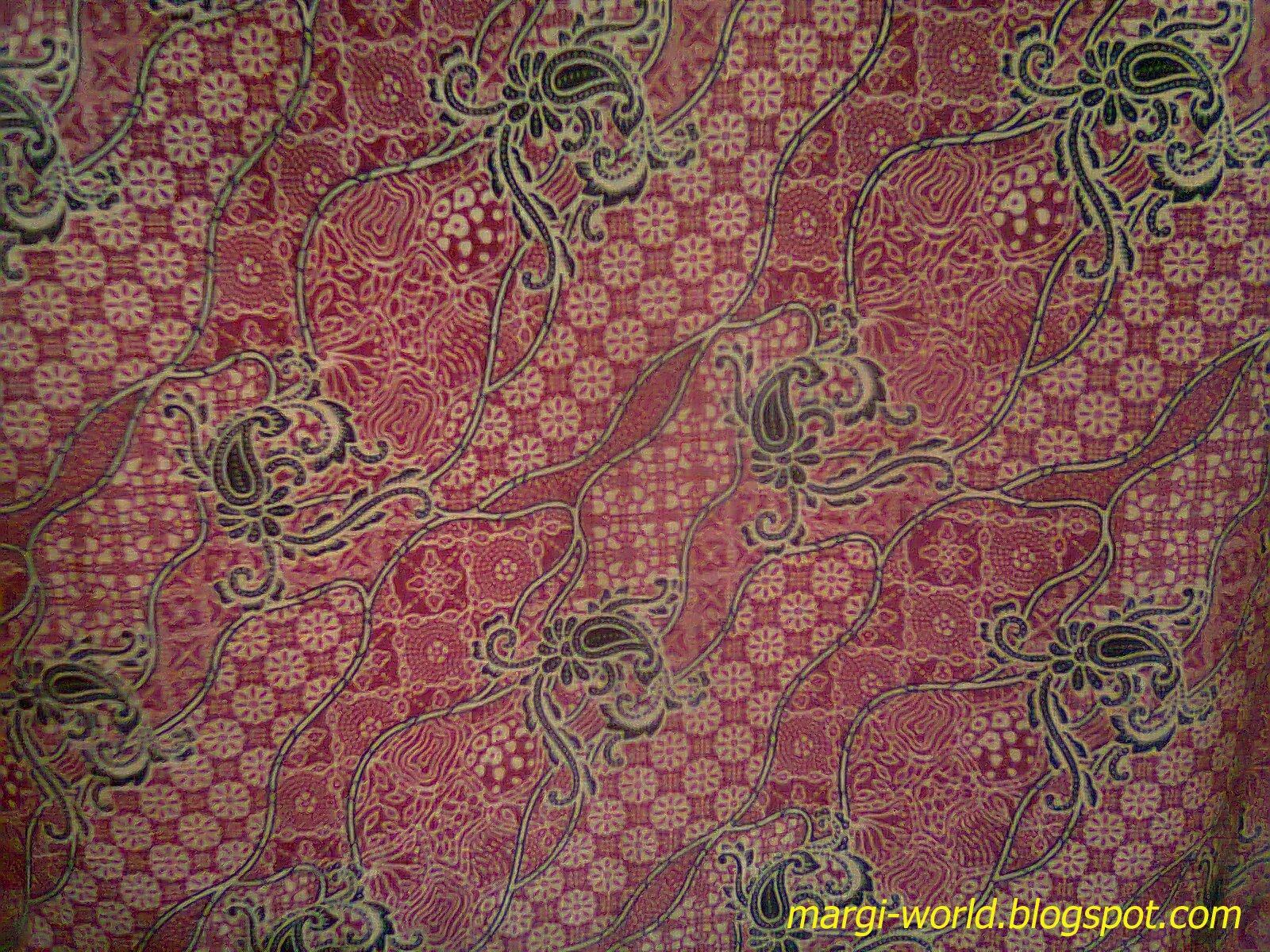 Contoh desain batik gaul sebagai trend warna di tahun ini