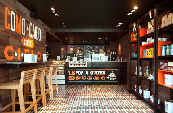 Coffee Shop Design Ideas by Mexican Interior Style