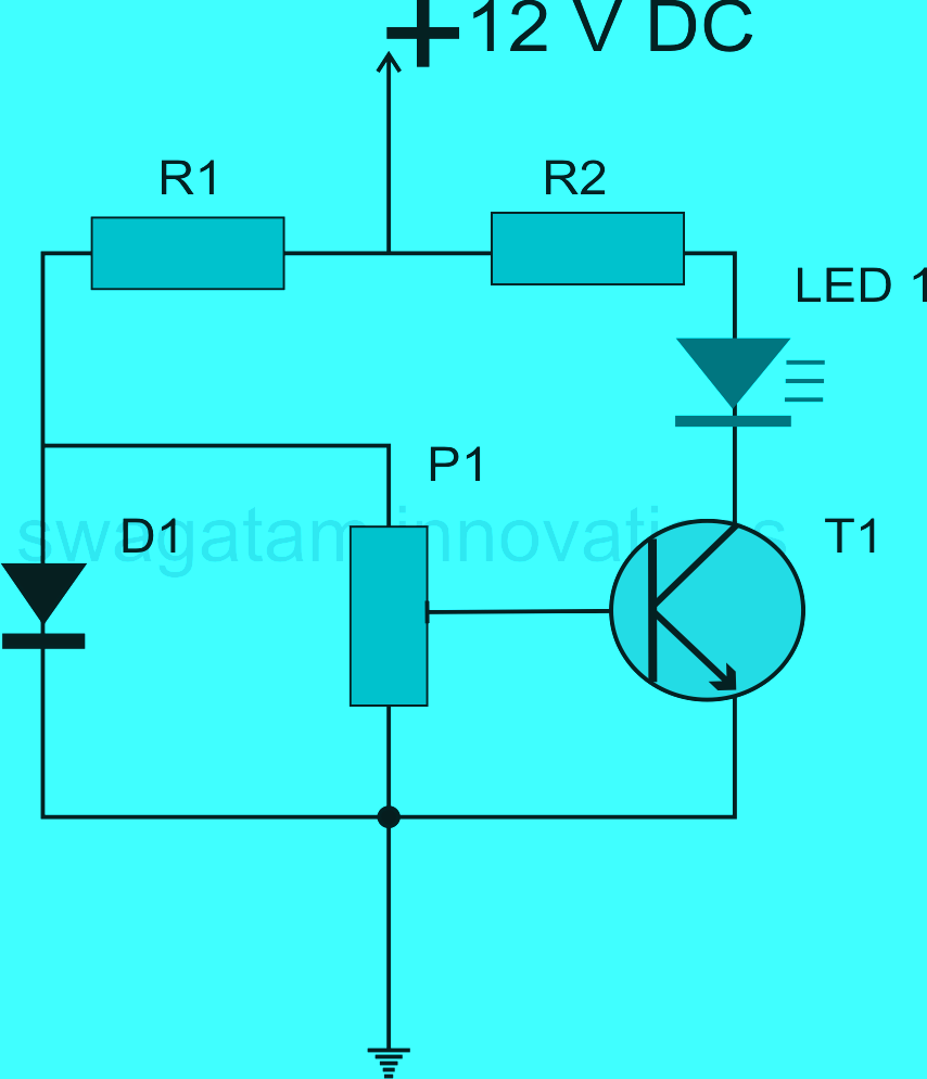 Make an Electronic Candle at Home | Homemade Circuit Designs Just ... | hobby circuits projects