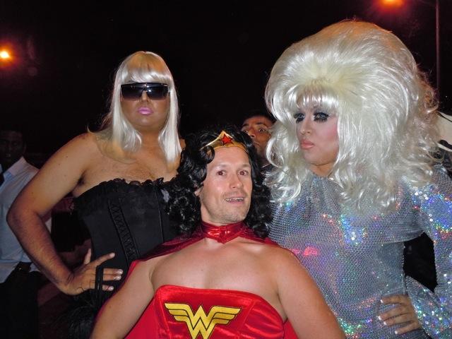 WEHO Halloween Carnaval costume drama