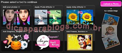 criar e editar fotos online