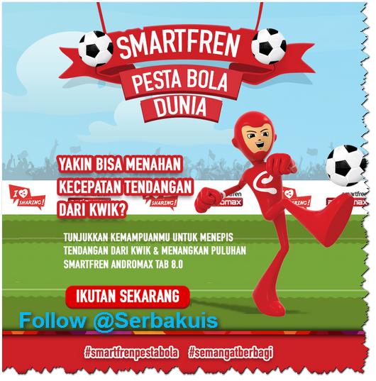 Games Berhadiah Smartfren Adnromax Tab 8.0 untuk 32 Pemenang