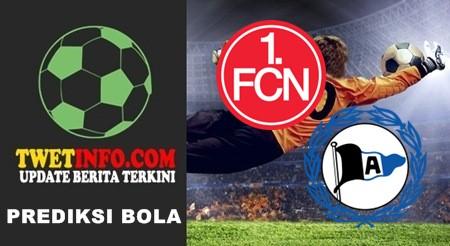 Prediksi FC nurnberg vs Arminia Bielefeld, 2 Bundesliga 25-09-2015
