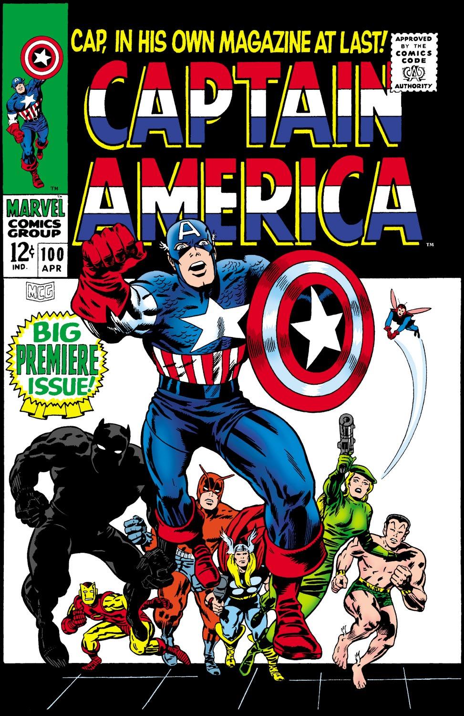Captain America (1968) Issue #100 #14 - English 1