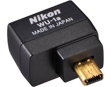 Nikon WU-1a WiFi adapter, wireless adapter