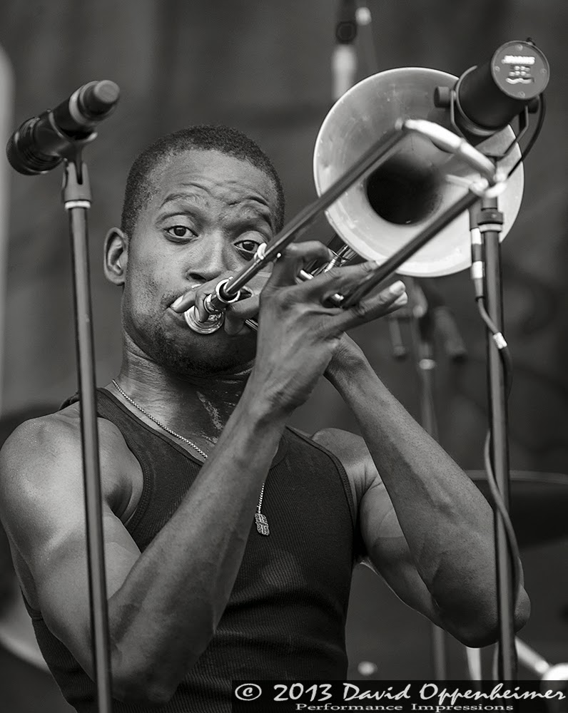 Trombone Shorty With Orleans Avenue
