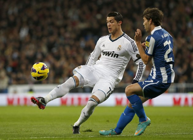 Espanyol vs Real Madrid, Liga BBVA