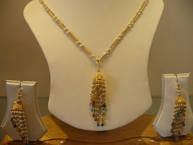 Gold And Diamond Jewellery Designs Gold Fancy Necklace Sets