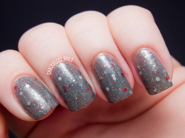 Chalkboard Nails: Happy Revolution Flip Flip Flipadelphia