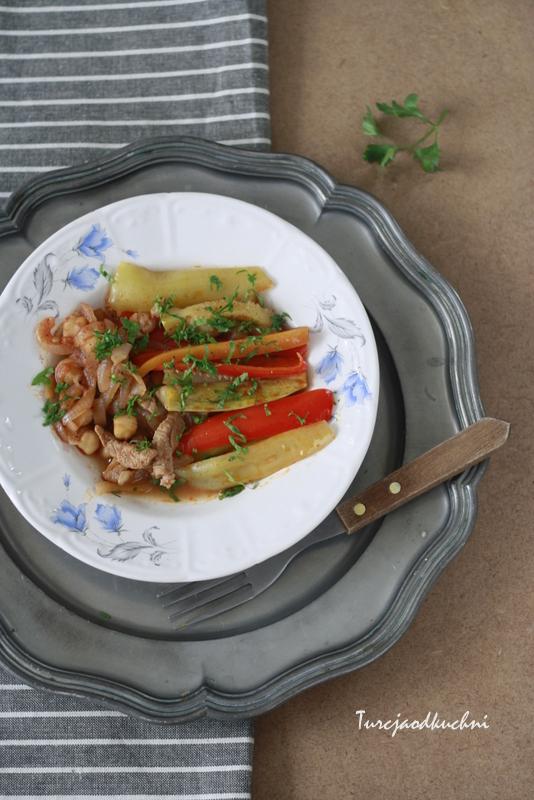 Wołowina i warzywa