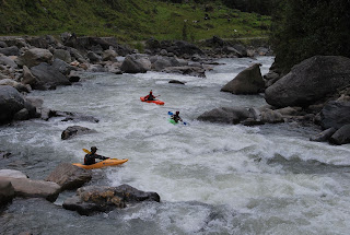 big water feel, quality kayaking in ecuador