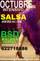 APRENDE A BAILAR SALSA EN OCTUBRE, EN BSD BAILAS MÁLAGA CENTRO.