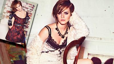 Emma Watson On Photo Shoot
