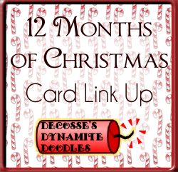 12 Months of Christmas card link up