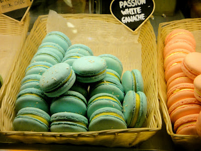 Passion White Ganache Macarons at Bonheur Patisserie