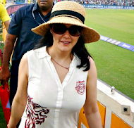 Preity Zinta ipl 2013 hot owner kings 11 punjab