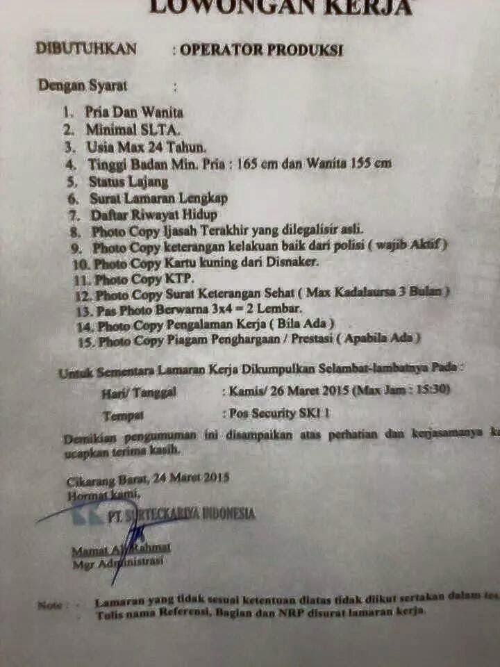 "<img src=""Image URL"" title=""PT. Surteckariya Indonesia"" alt=""Gobel Cibitung""/>"