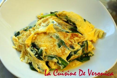 La Cuisine De Veronica,V女廚房,野蒜菜,Wild Garlic,野蒜菜炒蛋