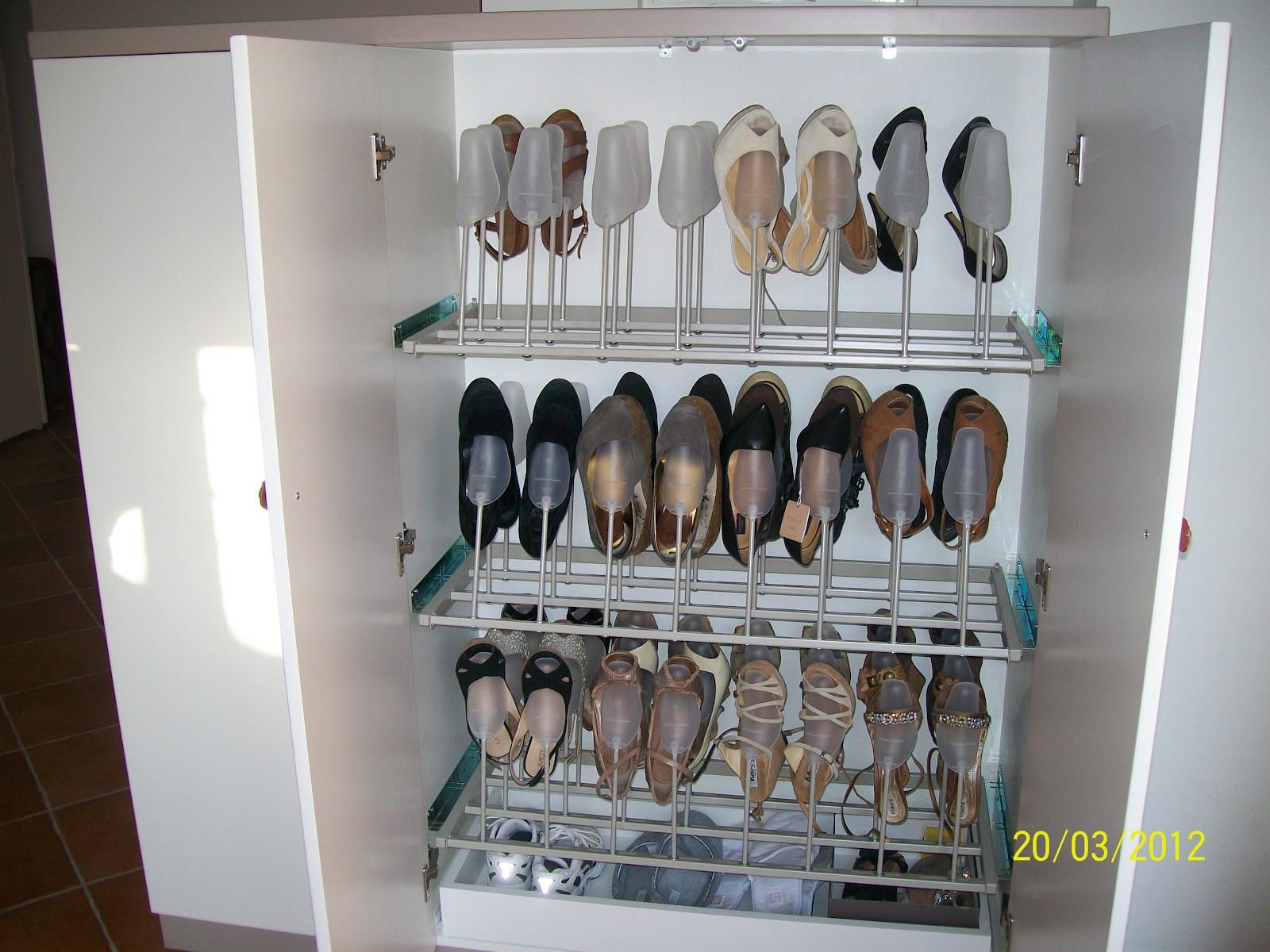 Cabina Armadio Rotante : Cabina armadio con scarpiera rotante: scarpiera cabina armadio