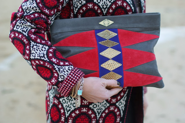 Mohekann Navajo clutch, Tiffany bracelet, Fashion and Cookies, fashion blogger