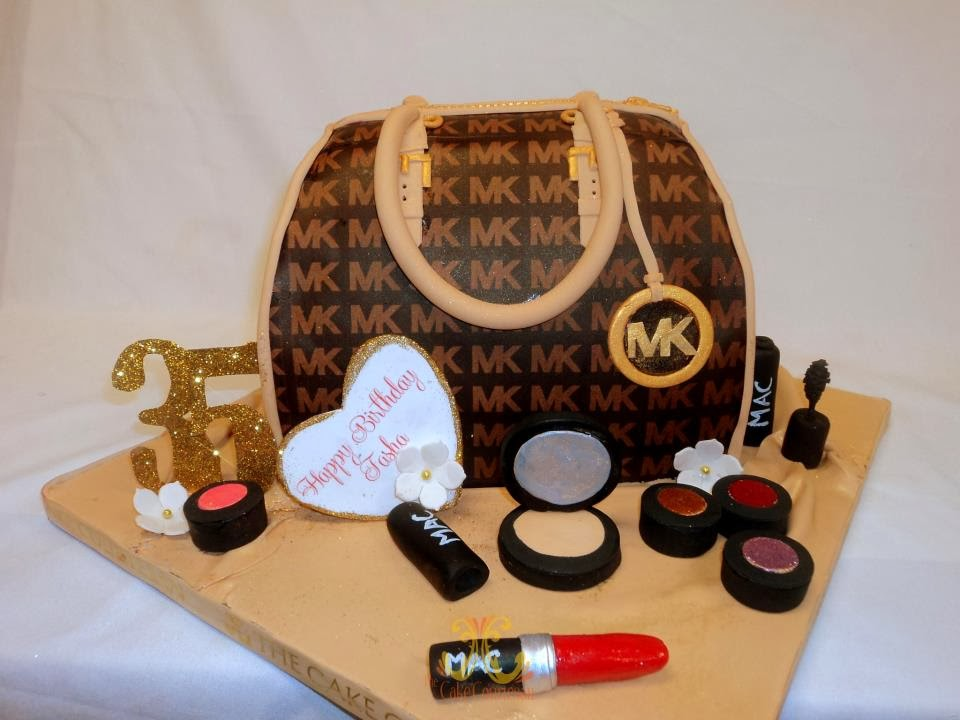 michael kors purse birthday cake