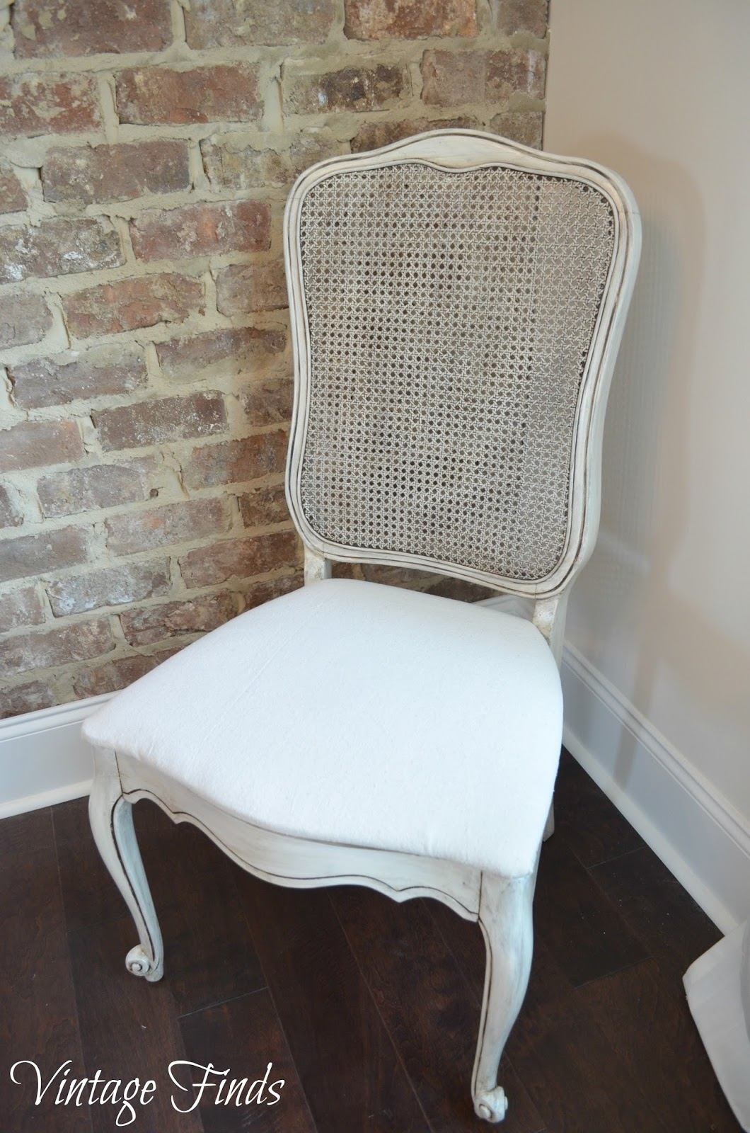 Vintage Cane Back Dining Chairs