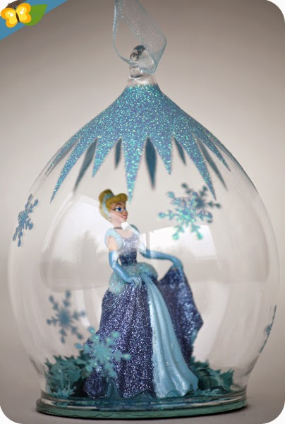 Boules de Noël princesses Disney : Cendrillon