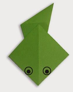 Hướng dẫn cách gấp con Nòng Nọc bằng giấy đơn giản - Xếp hình Origami với Video clip