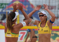seis vitórias das meninas do Brasil