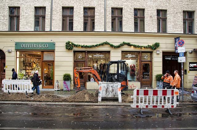Baustelle Hackescher Markt / Oranienburger Straße, 10178 Berlin, 10.12.2013