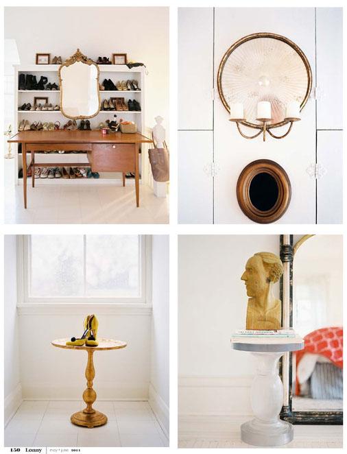 Doos interiorismo decorar con espejos dorados for Espejo dorado bano