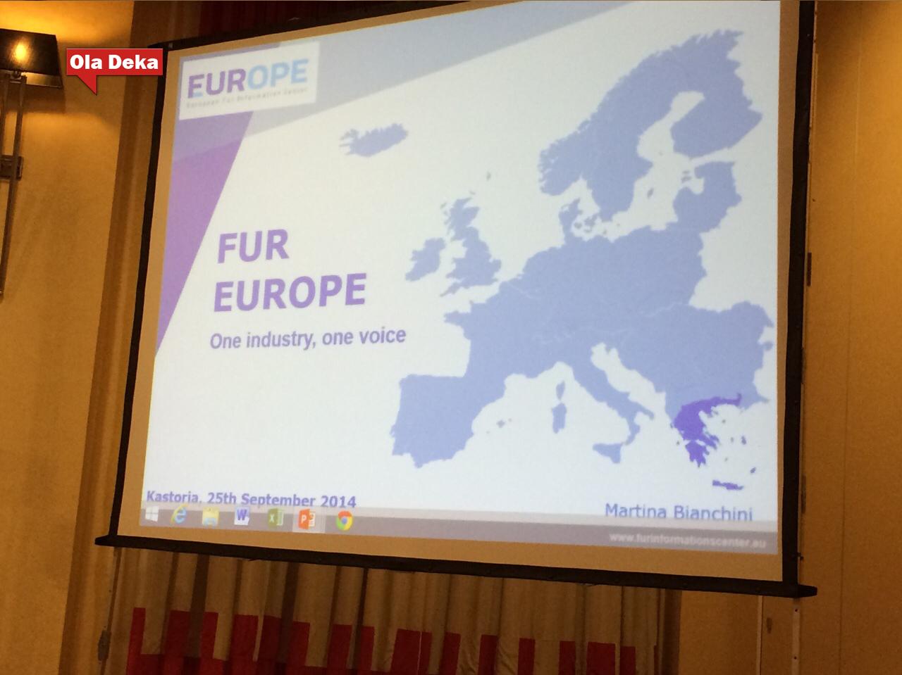 ΚΑΣΤΟΡΙΑ:ΦΩΤΟΓΡΑΦΙΕΣ ΑΠΟ ΤΗΝ ΕΚΔΗΛΩΣΗ ΤΟΥ FUR EUROPE της Παγκόσμιας Ομοσπονδίας Γούνας