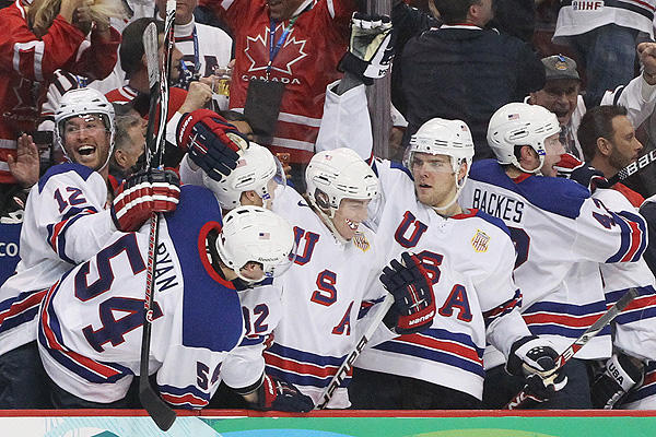 Six-Month Warning: 2014 USA Olympic Hockey Team