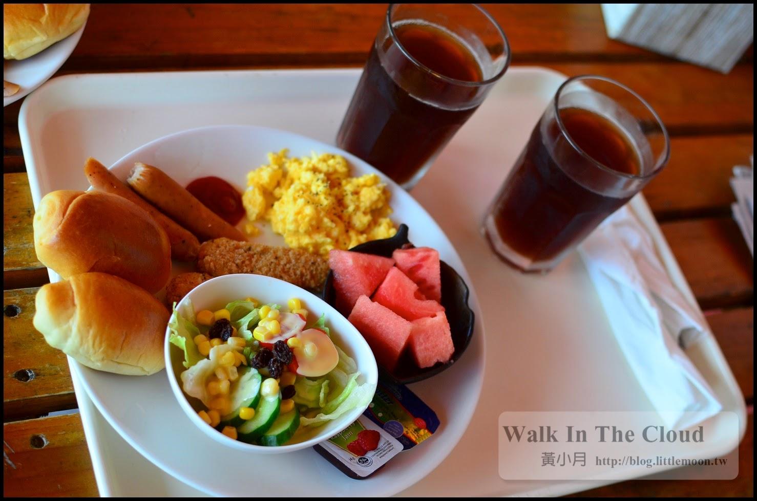 第二天豐富的早餐(一人份)