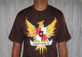 Kaos Distro Bercak Garuda real | Distro Gaul