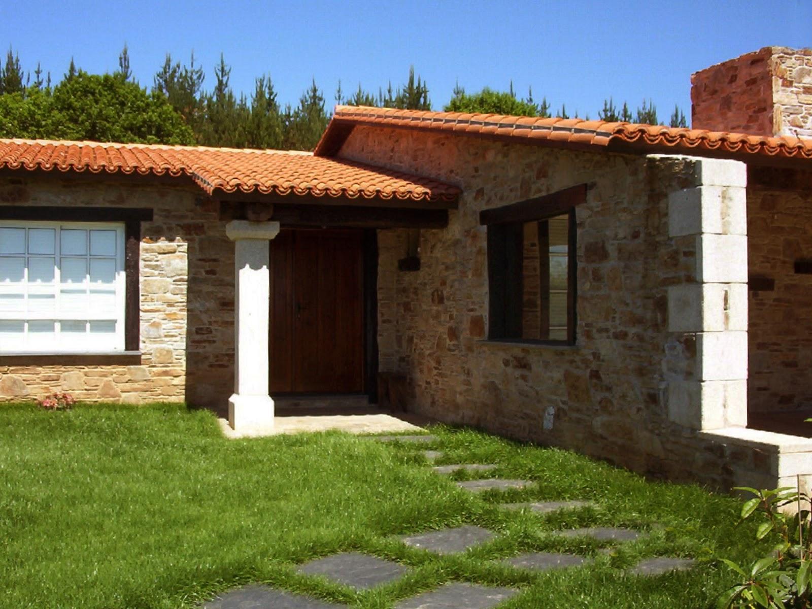 Construcciones r sticas gallegas a pleno sol for Construcciones rusticas