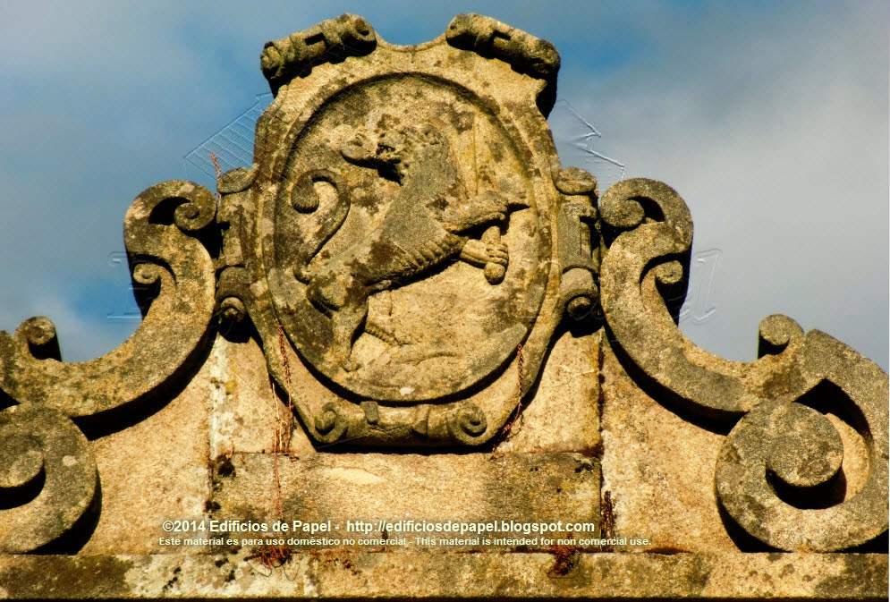 En Las Burgas, encontramos este escudo de Orense